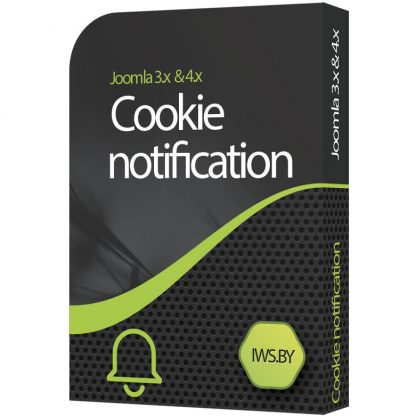 Cookie notification for Joomla 3 and Joomla 4