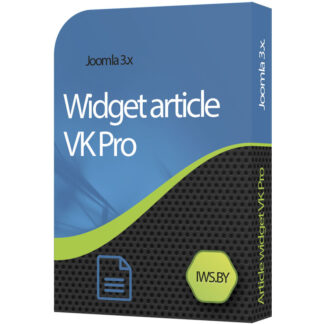 Widget article VK for Joomla 3