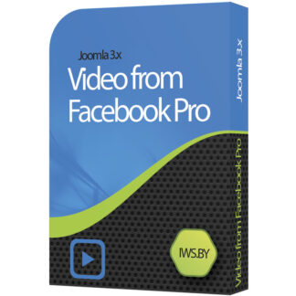 Video from Facebook Pro for Joomla 3