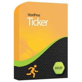 Ticker for WordPress