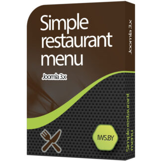 Simple restaurant menu for Joomla 3