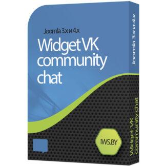 Vkontakte chat widget for Joomla 3 and Joomla 4