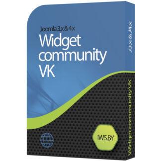 VKontakte community widget for Joomla 3 and Joomla 4